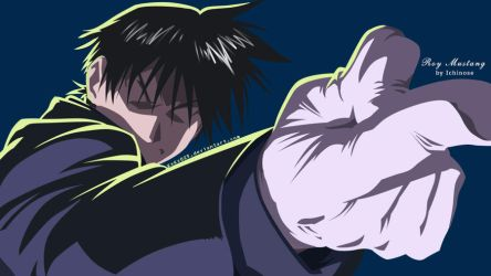 Vector Roy Mustang by KxKx025