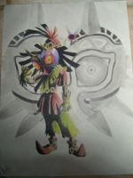 Skull Kid and Majora by Mad-Stalker