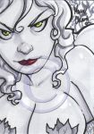 ivy sketch card by MarioChavez