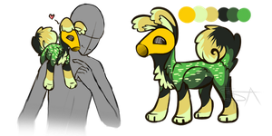 Little Pothead 3 - auction (closed) by SwarThylacine-Adopts