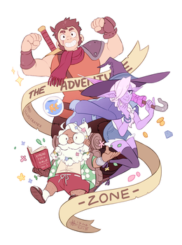 The Adventure Zone - [SPEEDPAINT] by ABD-illustrates