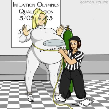 Inflation Olympics Check-In by criticalvolume