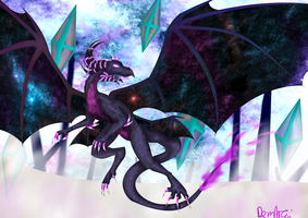 Space Dragon by Demintai-Eclipse