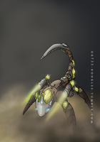 BIONICLE: Ketar, Creature of Stone by gk733