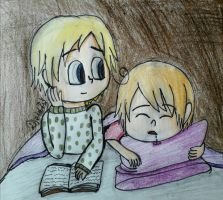 [APH] Wondering what you're dreaming (RoNor) by Djeidi-123