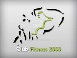 Club Fitness Logo by Fnayou