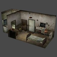[Silent Hill 3] Heather's room by shprops4xnalara