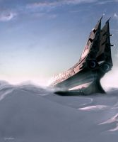 Arctic Landing by Andr-Sar