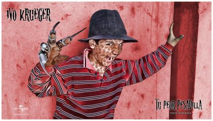 Krueger Poster by fabricioabella