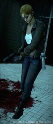 I'm Running To Help You!   Zoey   Left 4 Dead by zoellisrus