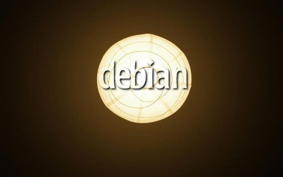 Debian Lamp Brown by Toonik