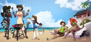 Beach Grill by ChaloDillo