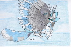 Evoloon AT With Wintercat96 by KrestenaWolfShadow