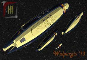 Ships of the Fleet by WalpurgisAk