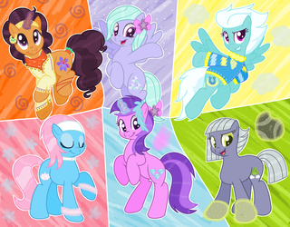 Adorable Group by RazorBladetheUnicron