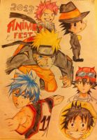 Anime poster COLOUR!! by Drawmaster001