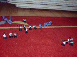 space marines vs tau 2 by x9000