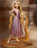 Tangled by saratopale