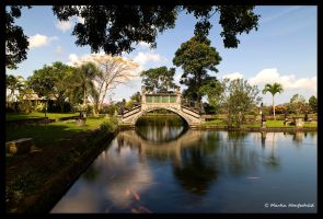 Tirtagangga Water Palace by Haufschild
