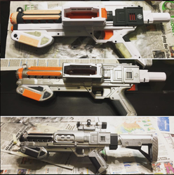 Captain Phasma Blaster Repaint by j0wey