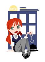 Amy Pond - Dr. Who by ANDEEchan