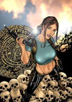tales of lara croft Variant by beretta92