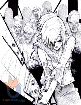 Riven vs Zombies by sykoeent