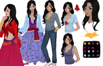 Reference Sheet: Aurelia Lupei by A-Fox-Of-Fiction
