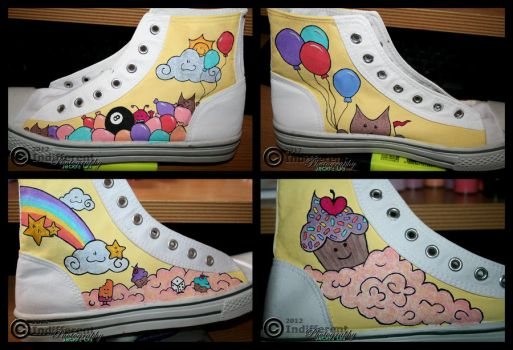 SHOES - Random and Cute (Made in FEB-MAR 2011) by IndifferentPhotos