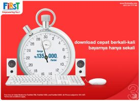 First Media ad  - Fast by pepey
