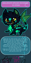 [Open species!] Anglercats by S-P-E-C-C-Y