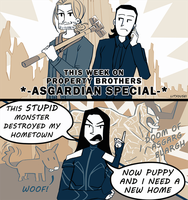 Property Brothers -Asgardian Special- by LitYousei