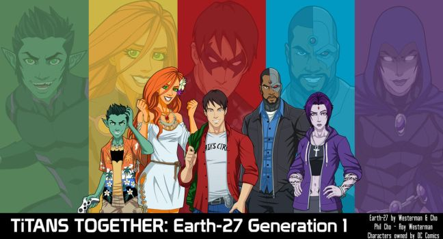 Titans Together: Earth-27 Generation 1 by Roysovitch