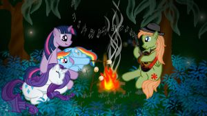 Wee Hours 'Round the Campfire by minimoose772