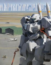 Mobile suit by thomaswievegg