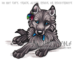 Mukluk Wolf Pup - Commish by WildSpiritWolf