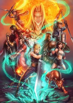 Final Fantasy VII: Supernova by Risachantag