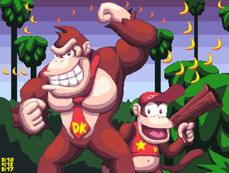 Donkey Kong Country by DangerMD