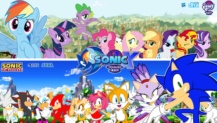 Sonic and My Little Pony : Friends by trungtranhaitrung