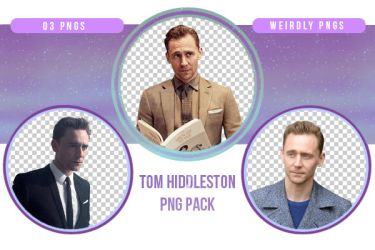 Tom Hiddleston PNG Pack by Weirdly-PNGS