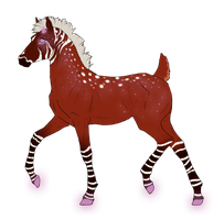 N3603 Padro Foal Design for WalkingDeadStables by casinuba