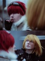Cosplay: Mello and Matt #2 by pollypwnz