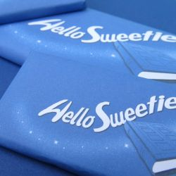 Hello Sweetie! chocolate bars by F-A