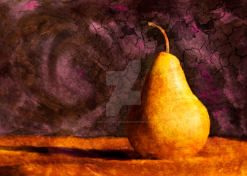 Painted Pear by Jedi-Master-Yoda