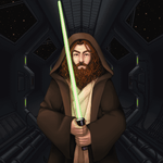 Jedi Master by shiicolate
