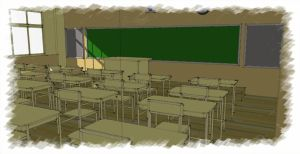 sketchup data of background by nijikan-han-okure