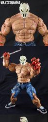 Custom Splatterhouse Rick Taylor figure by Jin-Saotome