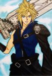 Dissidia Final Fantasy NT: Cloud Strife by dagga19