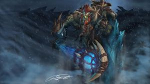 Tundra Tyrant Trundle by RussFairchild