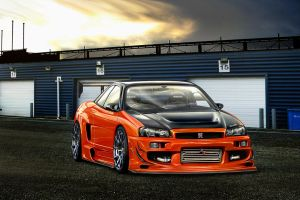 SBDesign Nissan Skyline R34 by SB-Design